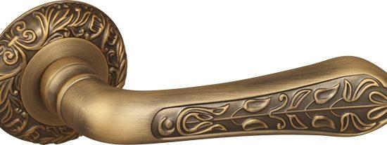 Ручка раздельная MONARCH SM AB-7 матовая бронза