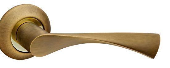 Ручка раздельная CLASSIC AR AB/GP-7 бронза/золото