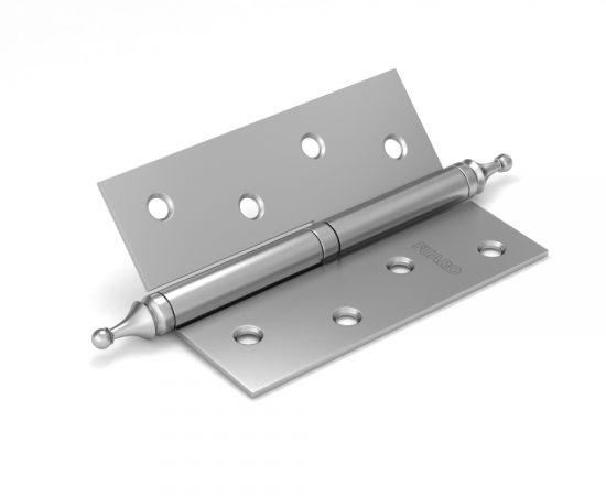 Петля съемная 410-4 100x75x2,5 PN (перл. никель) левая/правая