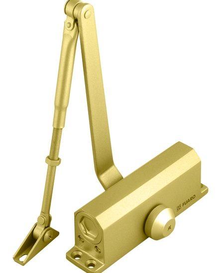 Доводчик дверной DC-205 GP до 120 кг (золото)