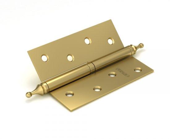 Петля съемная 410-4 100x75x2,5 SB (мат. золото) левая/правая
