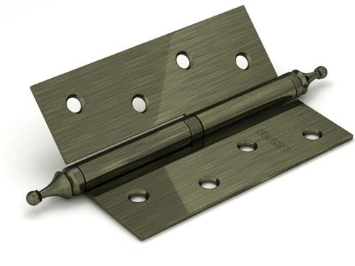 Петля съемная 410/BL-4 100x75x2,5 AB (бронза) левая/правая