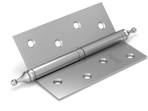 Петля съемная 410/BL-4 100x75x2,5 PN (мат. никель) левая/правая
