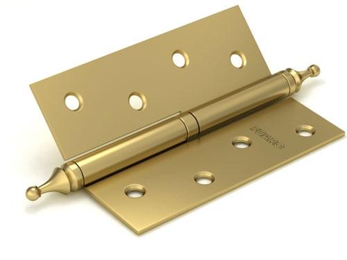Петля съемная 410/BL-4 100x75x2,5 SB (мат. золото) левая/правая