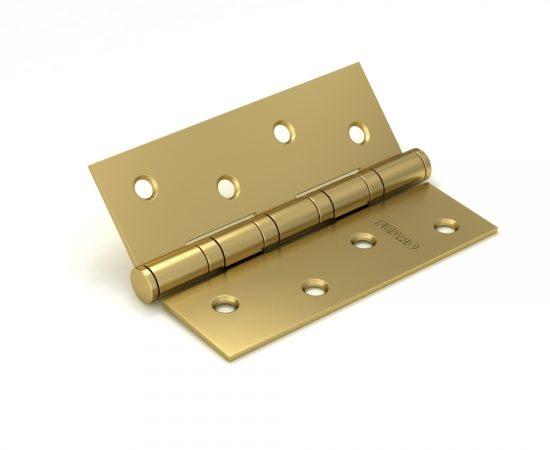 Петля универсальная 4BB 100x75x2,5 SB (мат. золото)