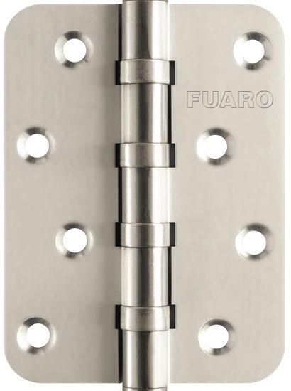 Петля универсальная 4BB-R10 100x75x2,5 PN (перл. никель)