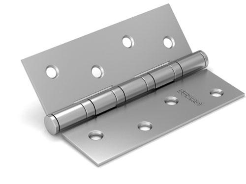 Петля универсальная 4BB/BL 100x75x2,5 PN (мат. никель) БЛИСТЕР