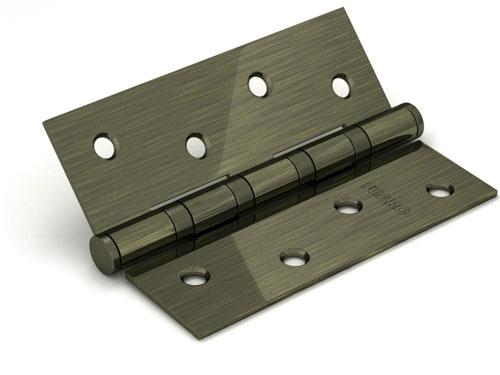 Петля универсальная 4BB/BL 125x75x2,5 AB (бронза) БЛИСТЕР