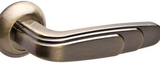 Ручка раздельная WING RM ABG-6 зеленая бронза