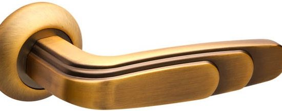 Ручка раздельная WING RM SN/CP-3 матовый никель/хром
