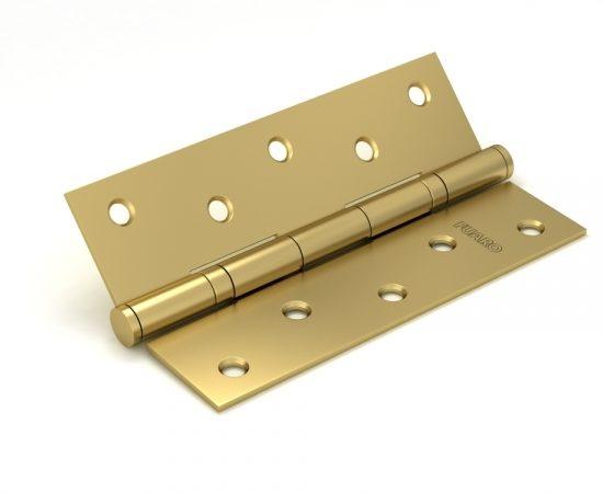Петля универсальная 2BB/BL 125x75x2,5 SB (мат. золото) БЛИСТЕР