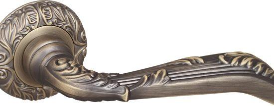 Ручка раздельная BOHEMIA SM AB-7 матовая бронза